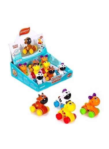 Can-Em Toys Oyuncak Displayde Basbırak Hayvanlar Beyaz